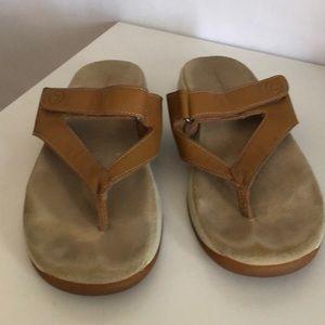 Rockport leather sandals size 9
